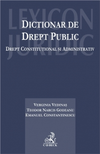 Dictionar drept public Drept constitutional