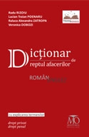 Dictionar dreptul afacerilor roman englez