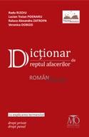 Dictionar dreptul afacerilor roman englez