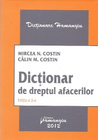 Dictionar dreptul afacerilor Editia