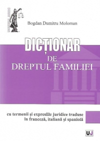 Dictionar dreptul familiei termenii expresiile