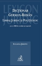 Dictionar german roman Limbaj juridic