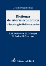 Dictionar istorie economica istoria gandirii
