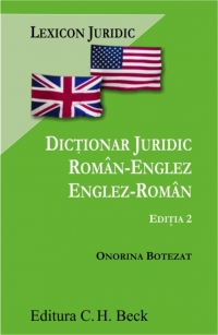 Dictionar juridic roman englez/englez roman