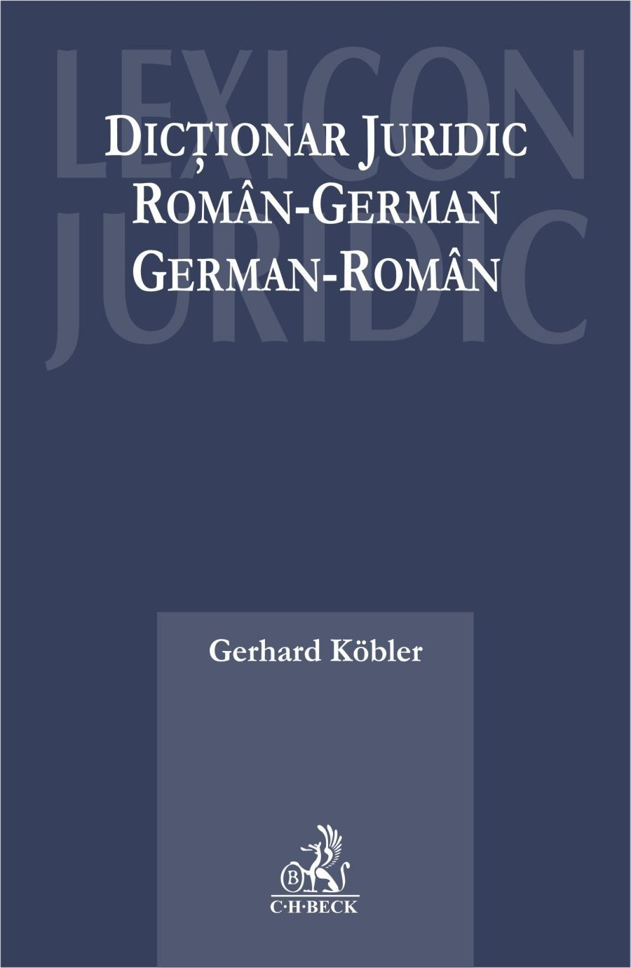 Dictionar juridic roman - german, german - roman