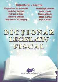Dictionar legislativ fiscal