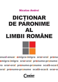DICTIONAR PARONIME LIMBII ROMANE