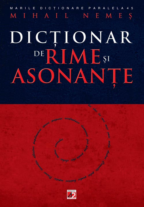 DICTIONAR RIME ASONANTE