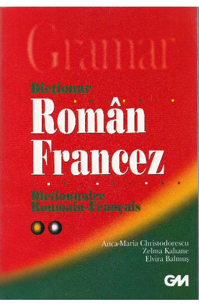 Dictionar roman-francez