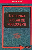 Dictionar scolar neologisme