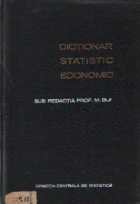 Dictionar statistic economic