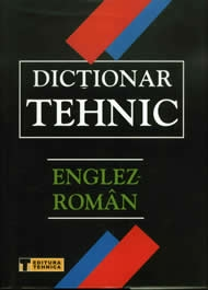 Dictionar Tehnic Englez Roman