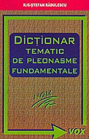 Dictionar tematic pleonasme fundamentale