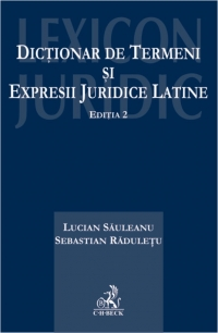 Dictionar termeni expresii juridice latine