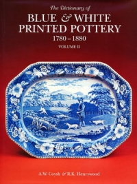 DICTIONARY BLUE WHITE PRINTED PORCELAIN