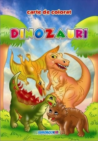 Dinozauri carte colorat (format B5)