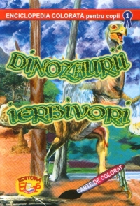 Dinozaurii ierbivori Carte colorat