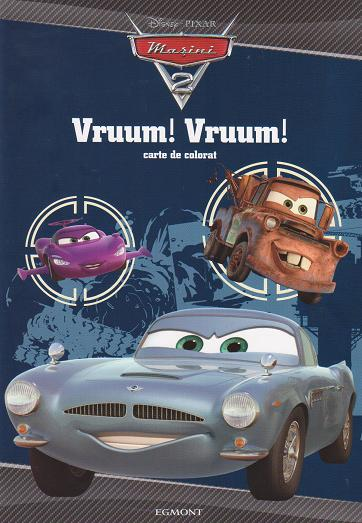 Disney Masini 2 - Vruum! Vruum! Carte de colorat