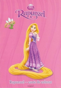 Disney Printese Rapunzel carte colorat