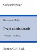Drept administrativ Volumul Editia