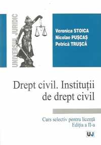 Drept civil Institutii drept civil