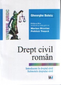 DREPT CIVIL ROMAN Introducere dreptul