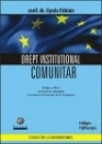 Drept institutional comunitar revizuita adaugita