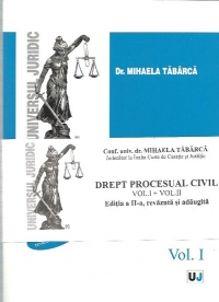 DREPT PROCESUAL CIVIL (Vol II)