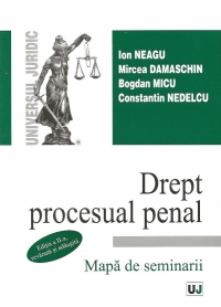 Drept procesual penal Mapa seminarii