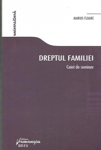 Dreptul familiei Caiet seminar
