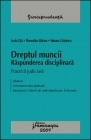 Dreptul muncii Raspunderea disciplinara practica