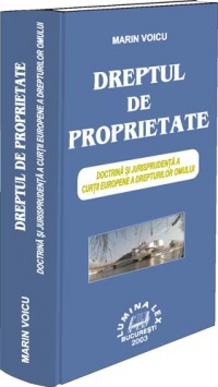 DREPTUL PROPRIETATE Doctrina jurisprudenta Curtii