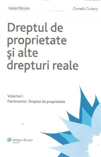 DREPTUL PROPRIETATE vol PATRIMONIUL DREPTUL
