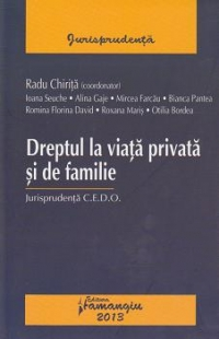 Dreptul viata privata familie