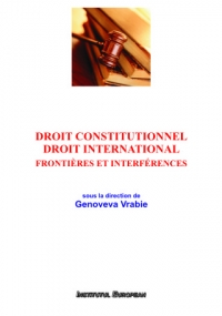 Droit constitutionnel Droit international Frontieres
