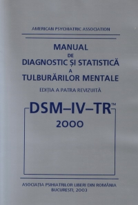 DSM 2000 Manual diagnostic statistica