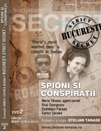 Documentar BUCURESTI STRICT SECRET (DVD