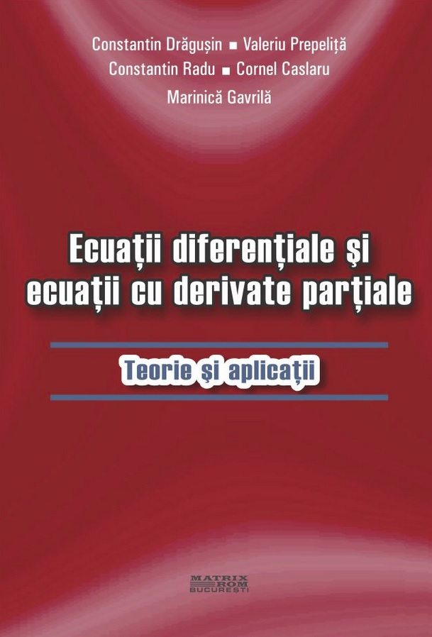 Ecuatii diferentiale ecuatii derivate partiale