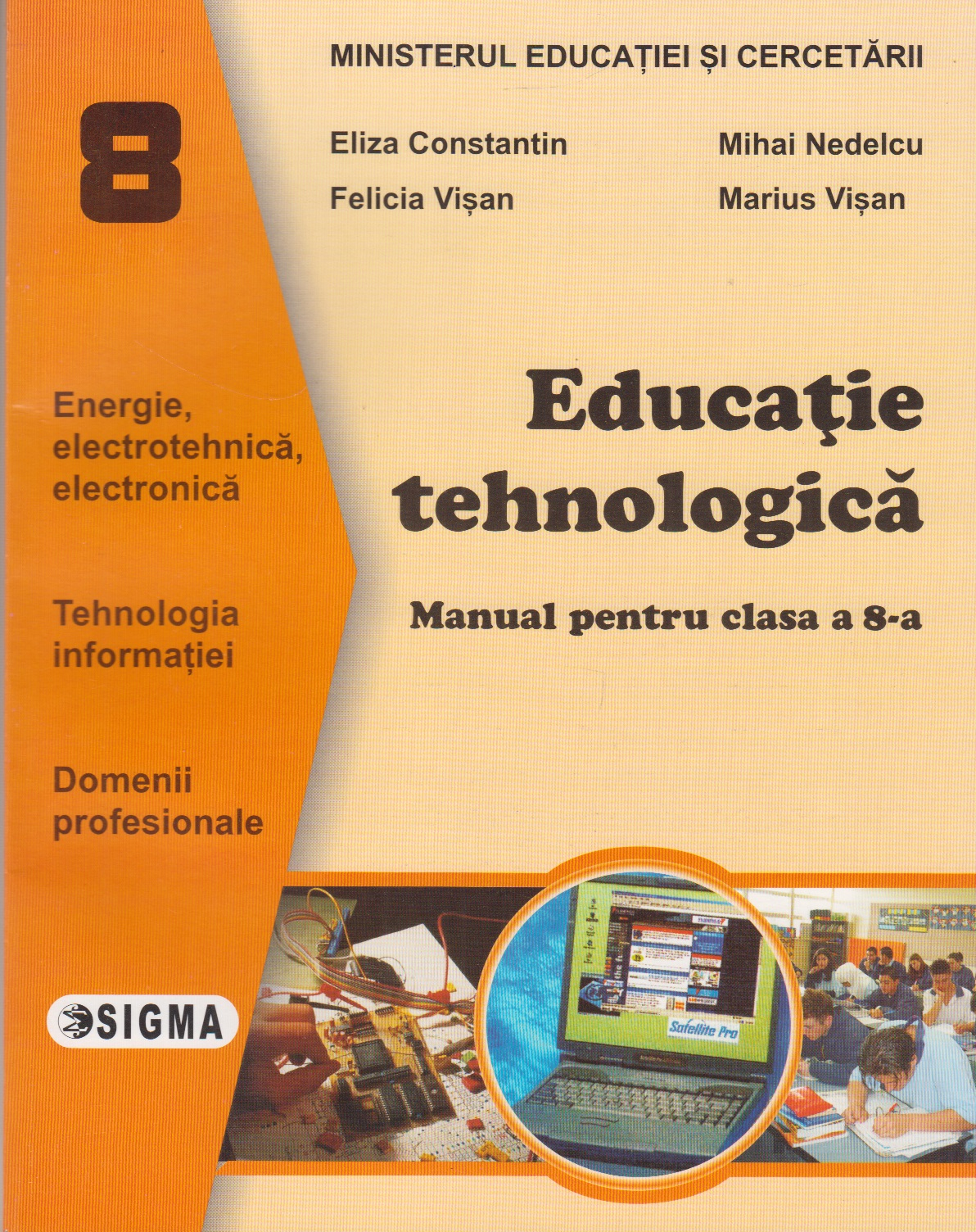 Educatie tehnologica Manual (cls VIII