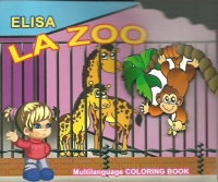 Elisa Zoo Carte colorat