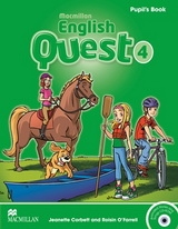 English Quest 4 Pupils Book with CD-ROM