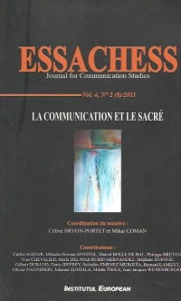 Essachess communication sacre: Vol (8)/2011