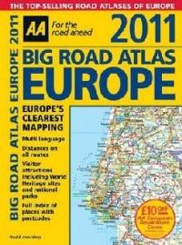 Europe Big Road Atlas 2011