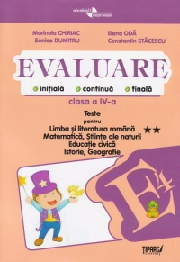Evaluare initiala continua finala Clasa