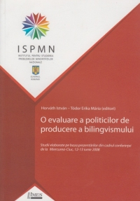 evaluare politicilor producere bilingvismului (Studii