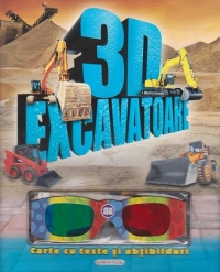 Excavatoare Carte teste abtibilduri (contine