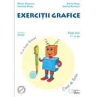 Exercitii grafice - grupa mare 5-6 ani