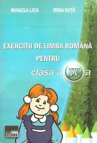 Exercitii de limba romana pentru clasa a IV-a