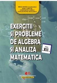 Exercitii si probleme de algebra si analiza matematica, clasa a XII-a
