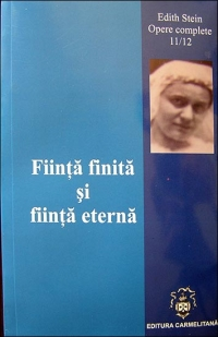 Fiinta finita fiinta eterna (Vol